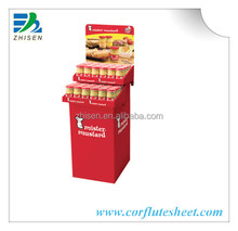 Shop Counter Design Detachable Display Stand/PP Display Shelf