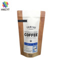 Good Design Food Grade Stand up Kraft Paper Coffee Ziplock Packaging Bags with One Way Valve