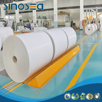 roll white coated duplex paper board grey back