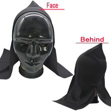 China party favors supply for classical creepy plastic halloween mask LP1313