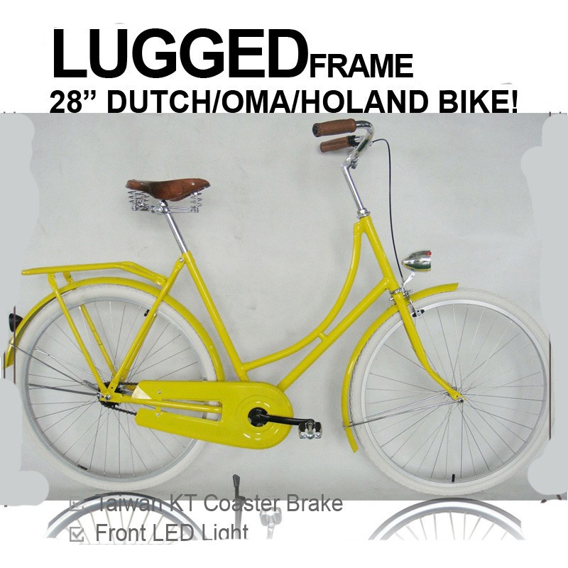 28 inch old lady bicycle dutch style bike
