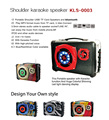 new products 2016 portable stereo digital subwoofer home karaoke speaker