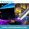 Madrix software and Artnet controller wholesale IP67 outdoor waterproof dmx led wall washer/facade dmx wall washer