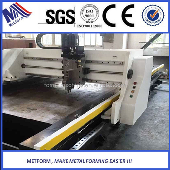 China BEST Stainless steel CNC metal v-groove cutting machine,cutting v-groove machine