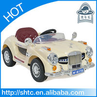 Luxurious and antique kids electric toy car to drive
