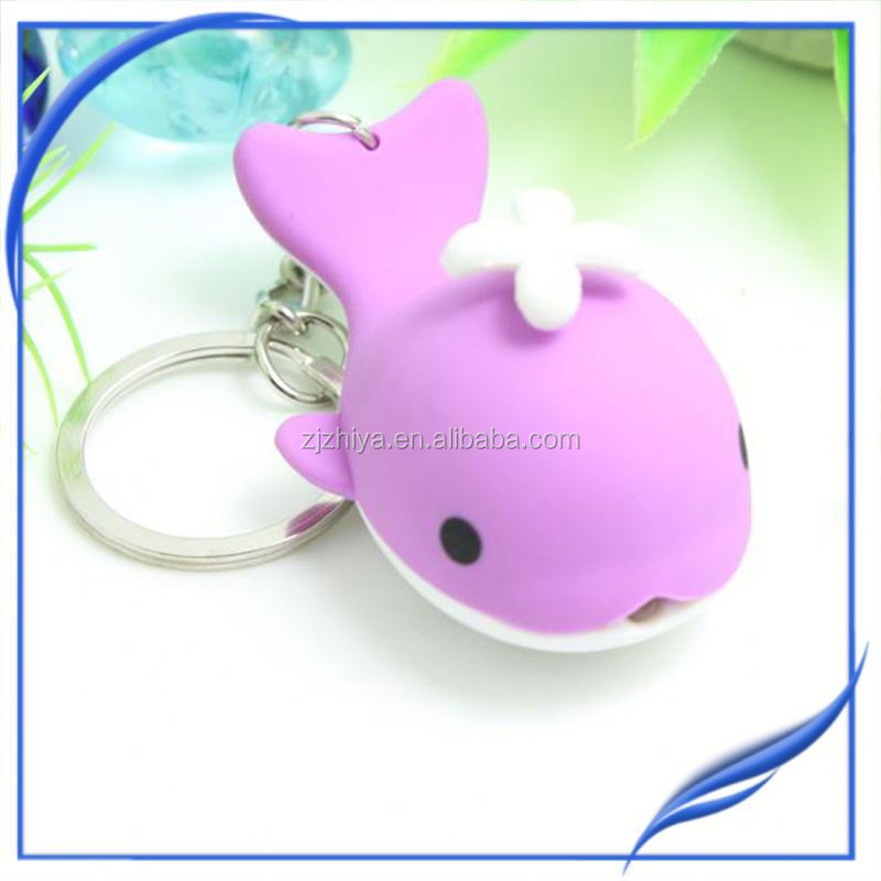 wholesale fashion custom led bmw key chain