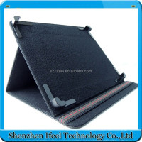 "Leather Case Cover for 7"" Tablet PC MID 7inch Tablet Stand Case for 7 inch PC Tablet Multi-angle Viewing"