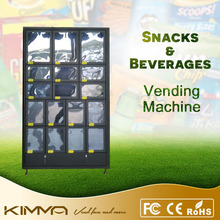 China factory outdoor vending machine for vegetables,colorful flowers
