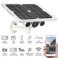 2017 cheap outdoor solar power wireless wifi hd ip security camera