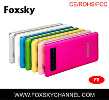 Zhenzhen best quality product solove 8000mah power bank