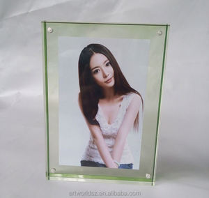 glass wall mounted acrylic picture frames