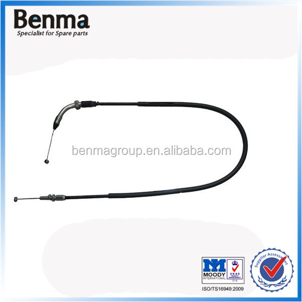 South Americal market hot sale motorcycle throttle cable