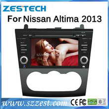 ZESTECH car gps dvd player for Nissan Altima with arabian,Portugal,russian osd menu