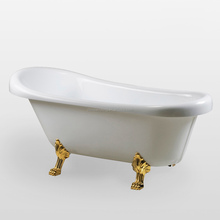 Acrylic Freestanding Bathtub Clawfoot Bathtub Bath tub Acrylic Bathtub