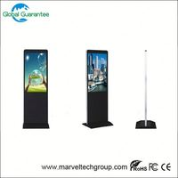 Floor standing digital signage tablet kiosk player with global guarantee