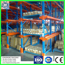 Driving in steel rack, pallet racking system, storage shelving