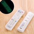 TV Remote Control Fluorescent Dust cover Silicone Air Conditioning Protective storage bag Organizer