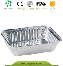 Aluminum Foil Metal Food Tray For Sale
