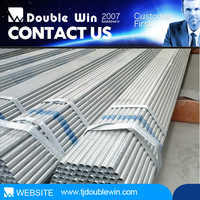 "china manufacturer 1 1/2"" inch galvanized steel pipes, 48.3mm steel pipe"