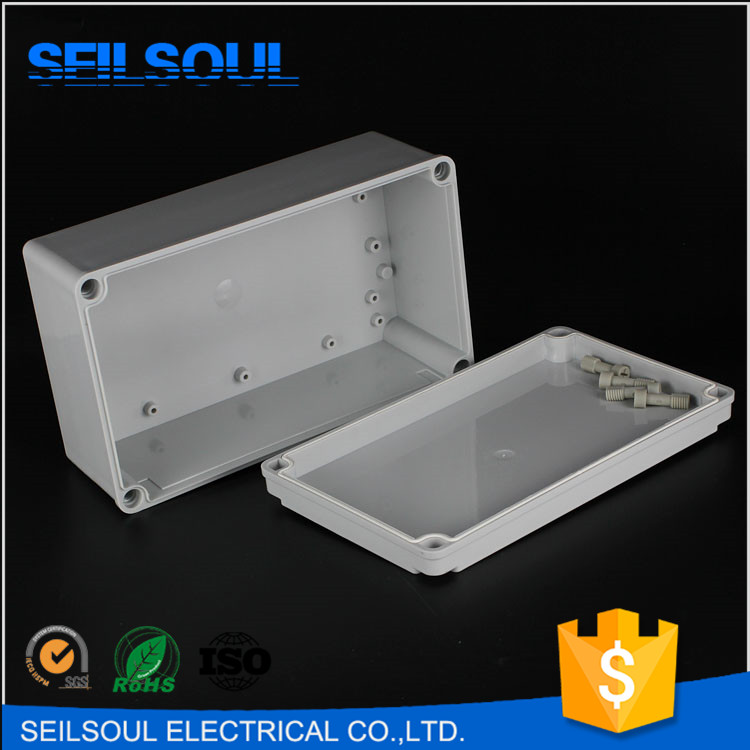 Seilsoul brand 250*150*100 waterproof electrical aluminum junction boxes ip67