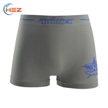 Hsz-SMB0014 Customized Your Own Brand Seamless Men Underwear High Quality Mature Hot Sexy Underwear Boxer Briefs Wholesale