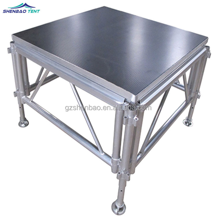 Portable stage platform led stage par light used stage curtains for sale