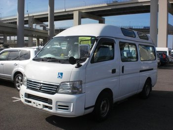 2006 NISSAN CARAVAN BUS DUAL AC /DWMGE25-015819/ Used Car From Japan (45536)