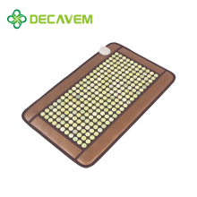 Decavem well known far infrared jade physiotherapy tourmaline heating thermal mattress