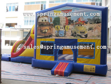 Inflatable water slide combo castle for sale SP-CM034