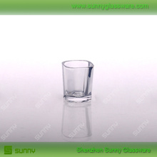 Wholesale square shot glass 70ml tequila glass