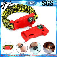 40 Colors quick release buckle for paracord bracelet
