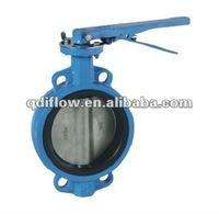 water valve types butterfly valve with wafer connection