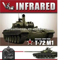 RC TANK/VS TANK PRO 1/24 Russian T72-M1 Green IR Battle