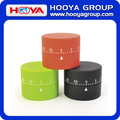 Cylindrical Shaped Rubber Paint Processing 60 Minute Time Mechanical Kitchen Timer