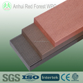 anti slip solid composite timber decking board