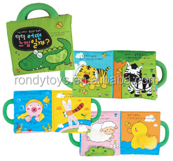 3D image of Childrens Educational Toys Cloth Books For Children