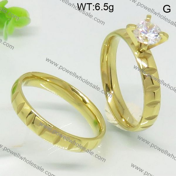 2015 Powell Newest Arrival wedding ring with cage