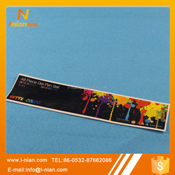stationery color pen packing box label