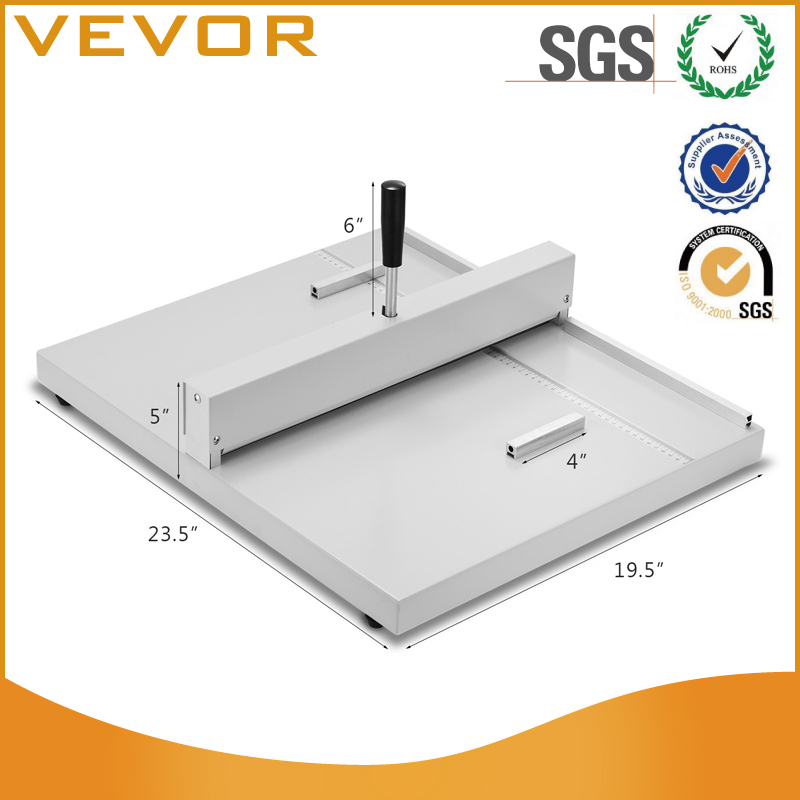 VEVOR BestEquip Paper Cutter 17 Inch A3 Guillotine Paper Cutter Heavy Duty Steel Guillotine Cutter 400 Sheet Capacity