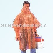 colorful cheapest disposable pe rain poncho
