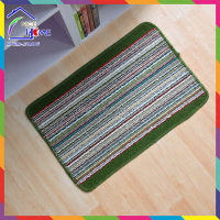 Blue cheapest newest woven straw floor mats