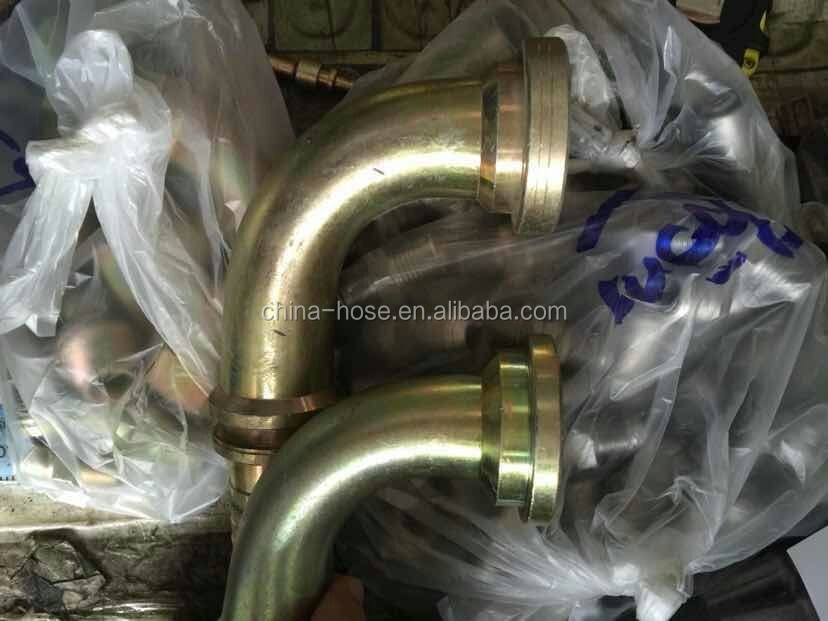 Customized hydraulic hose and end fittings,rubber hose assembly