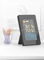 Digital Weather Meters Station Clock with Indoor and outdoor humidity temperature