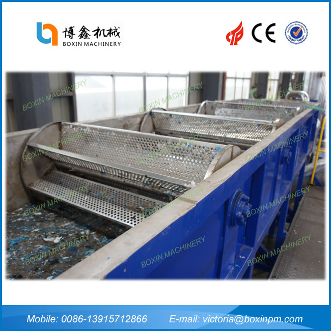 Professional waste pvb plastic washing line with high quality