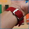 Watch bands Stock supplier nylon Perlon Watch Straps Braided Straps with Stainless Steel Buckle