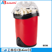 Anbolife phone popper hot sale professional commercial air popping popcorn machine/corn popper maker
