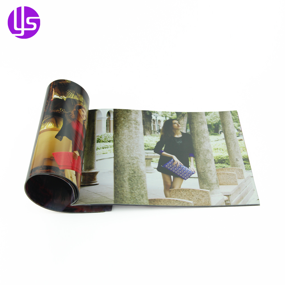 Wholesale Cheap Custom Professional Bulk A4 Soft Cover Coloring Photo Picture Clothing Catalog Book Printing