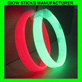 wide 8 inch chemical light sticks glow in the dark-- glow wristbands