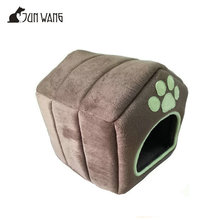 coffee soft warm luxury indoor pet dog and cat house