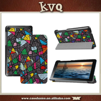 OEM LOGO Folio leather case for samsung galaxy tab 3 7.0 7 inch tablet